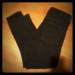 Gap True Skinny Super High Rise Crop jeans